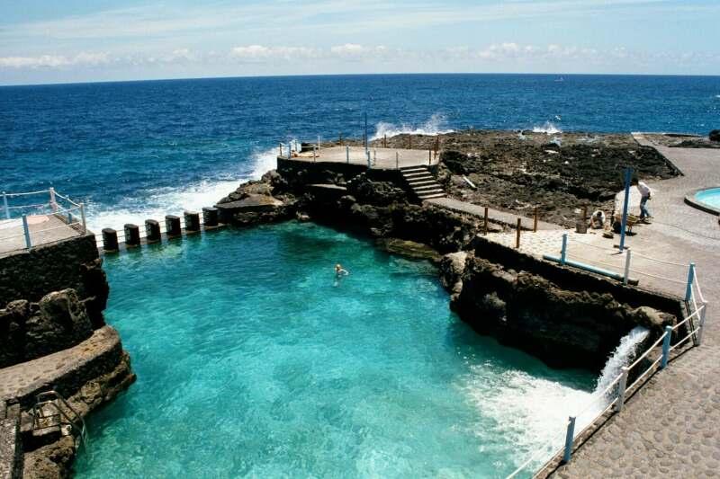 Dos piscinas naturales de canarias entre las mejores de for Las mejores piscinas naturales de madrid