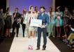 Josep Jacobo Acosta, ganador del V Certamen de Jóvenes Diseñadores (foto: Tenerife Moda)