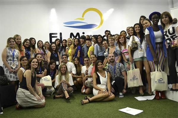 el mirador foto familia jornada blogger born to be blogger
