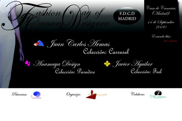 Los dise adores canarios desfilan en madrid moda canaria - Disenadores en madrid ...