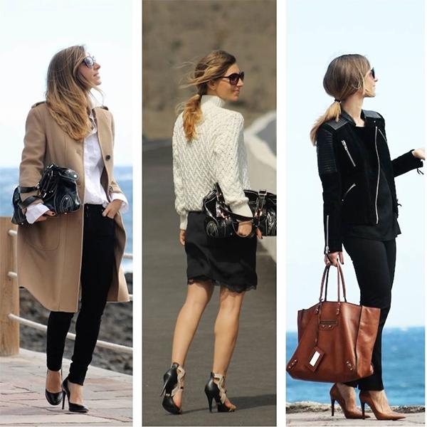 Las bloggers te dan ideas para ir a la oficina moda canaria for Bolsos para oficina