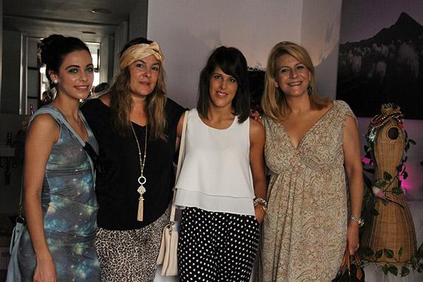 Con las chicas de Asstyle & Design y Verónica de Little Pretty