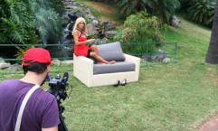 Nuria Gomez presentadora televisión canaria