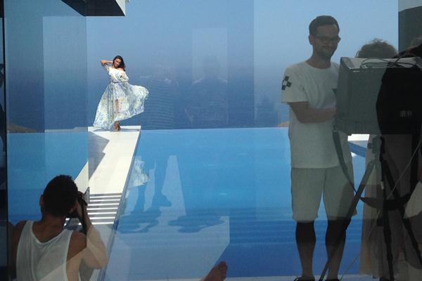 Irina Shayk y juan dominguez love republic