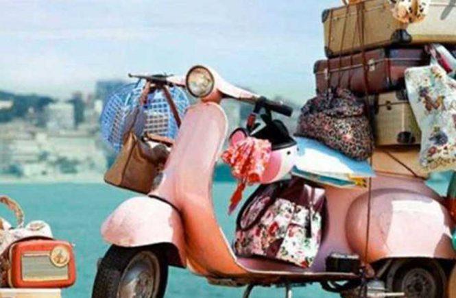 La maleta para las vacaciones
